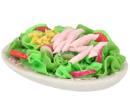 Tc0232 - Piatto con insalata