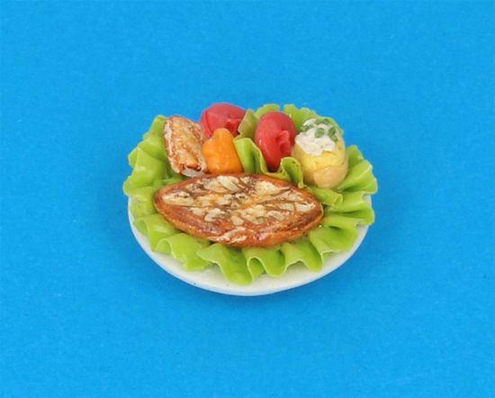 Tc0549 - Plato de comida