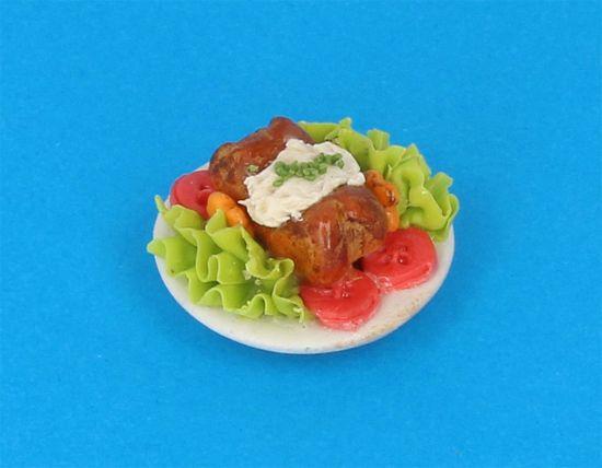 Tc0588 - Plato de comida
