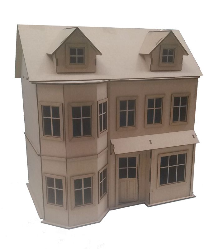 Case delle bambole dm21139 viennain kit di facile montaggio - Finestre in kit di montaggio ...