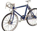 Tc5027 - Bicicleta azul grande