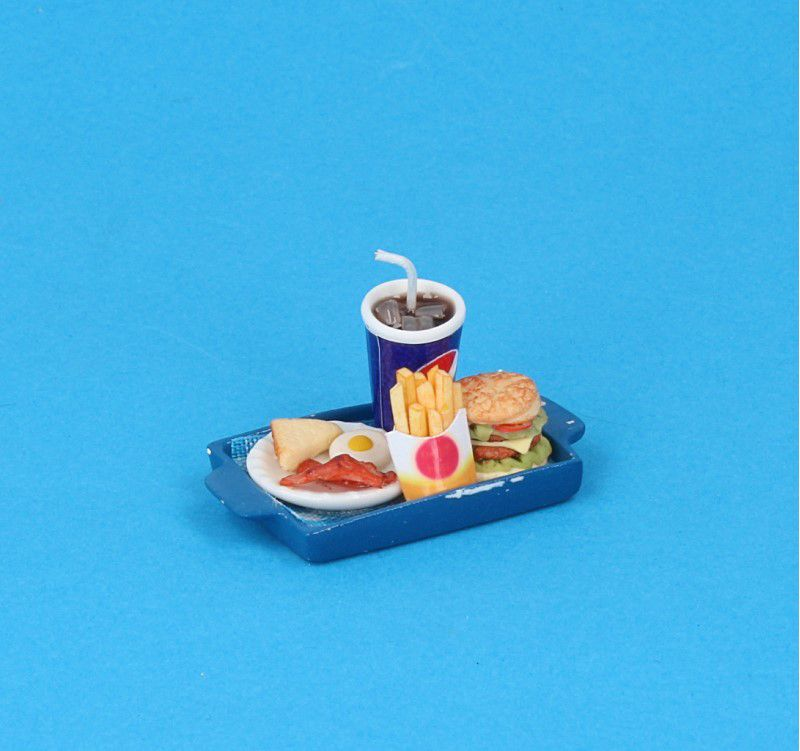 Sm3601 - Bandeja con hamburguesa