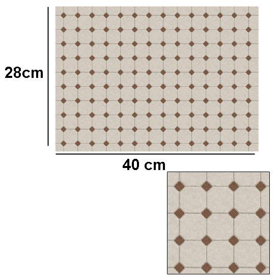 Tw2055 - Carta con piastrelle