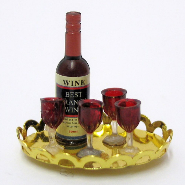 Tc0235 - Tray with Bottle