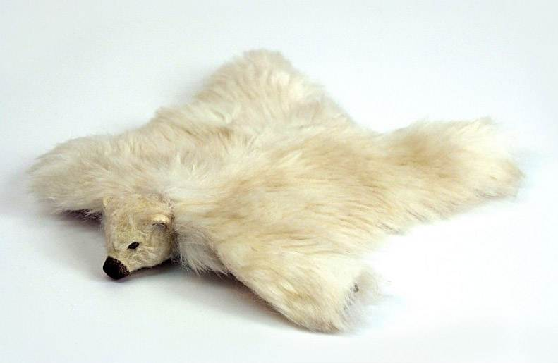 Al11250 - Alfombra piel de oso