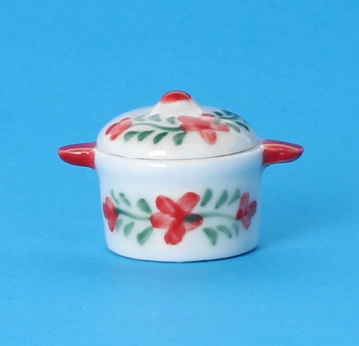 Cw0700 - Porcelain pot