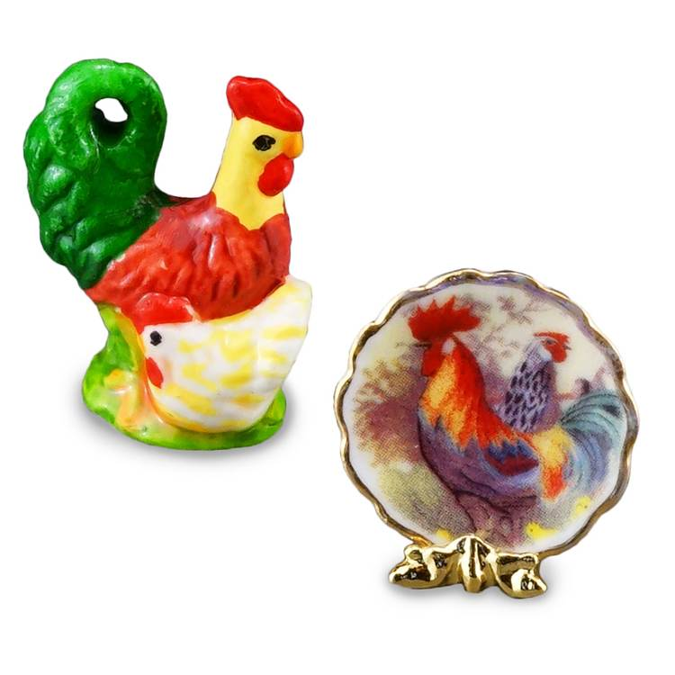 Re14935 - Decoración gallo