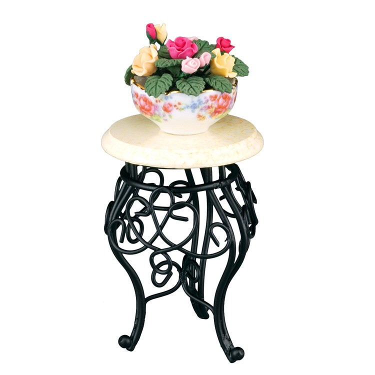Re17047 - Table basse avec fleur