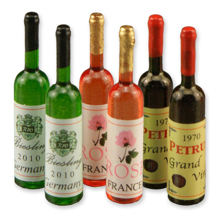 Re17565 - Seis botellas de vino
