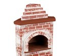 Re18573 - Wood oven without fittings