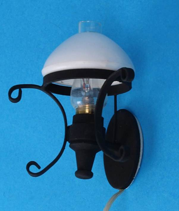 Sl3377 - Black wall lamp