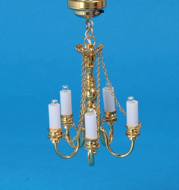 Sl4043 - Lampara de 5 velas leds