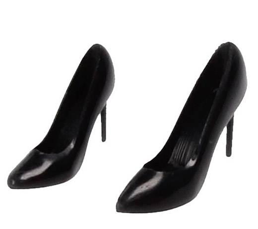 Tc0162 - Zapatos de tacón negro