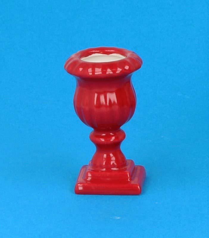 Tc0912 - Macetero rojo