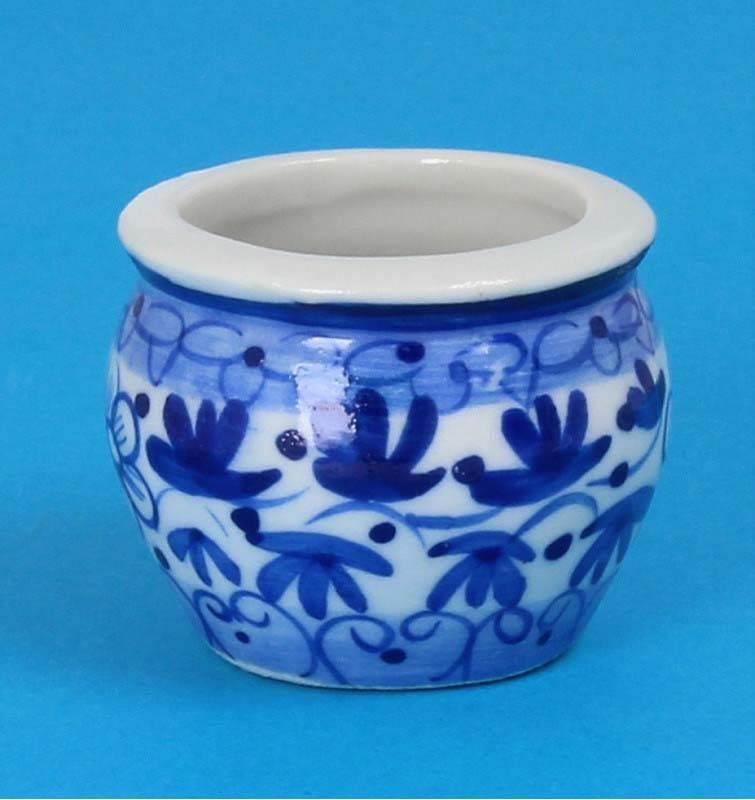 Tc0944 - Pot de fleurs en porcelaine