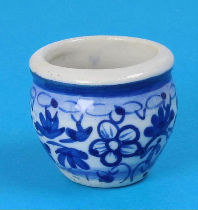 Tc0980 - Pot de fleurs en porcelaine