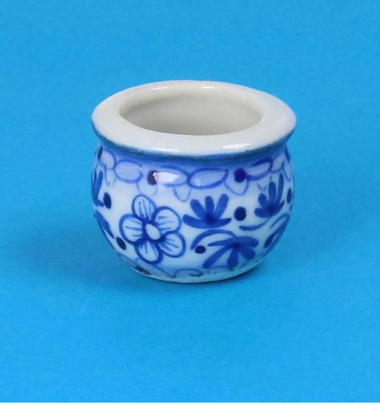 Tc0981 - Pot de fleurs en porcelaine