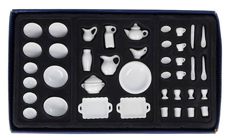 Vp0005 - Vajilla blanca 40 piezas