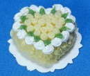 Sm0170 - White chocolate heart cake