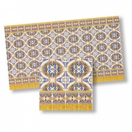 Wm34303 - Paper Decorated Tiles