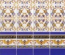 Wm34304 - Paper Decorated Tiles