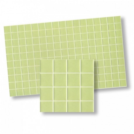 Wm34351 - Piastrelle verdi