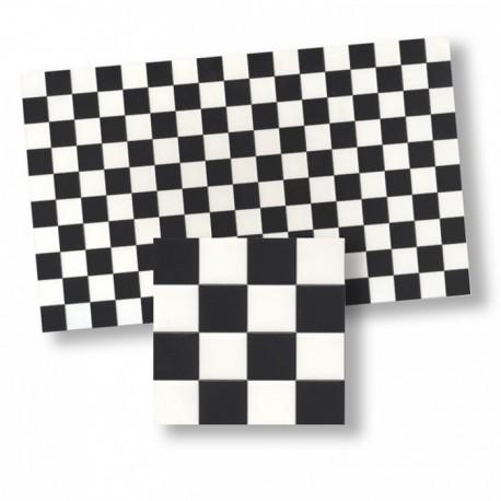 Wm34360 - Azulejos cuadros negro