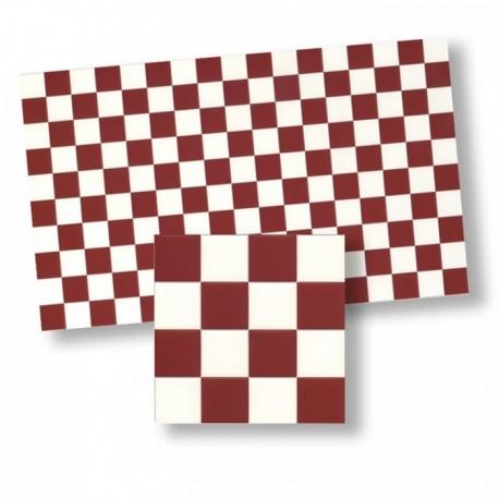 Wm34361 - Azulejos cuadros rojos