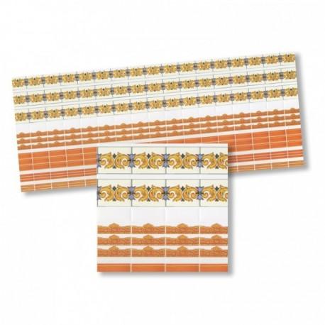 Wm34375 - Cenefas naranjas