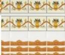 Wm34377 - Cenefas naranjas
