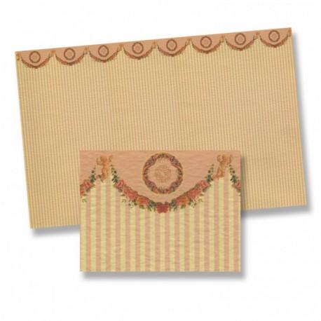 Wm34557 - Carta decorata