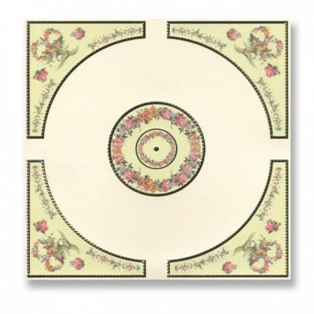Wm34823 - Decoracion techo serie oro