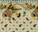 Wm35570 - Decorated wallpaper