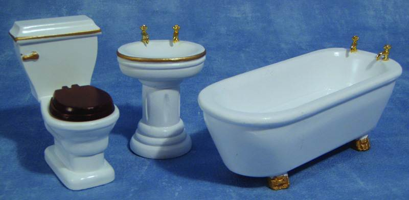 Eurominiatures - Dollhouses Bathrooms