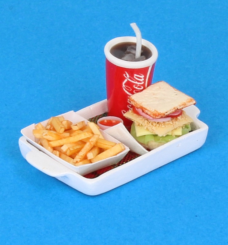 Sm3604 - Bandeja con sandwich