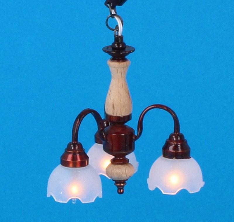 Sl3983 - Lampada 3 paralumi