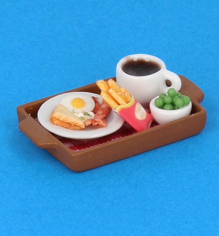 Sm3602 - Tray with food