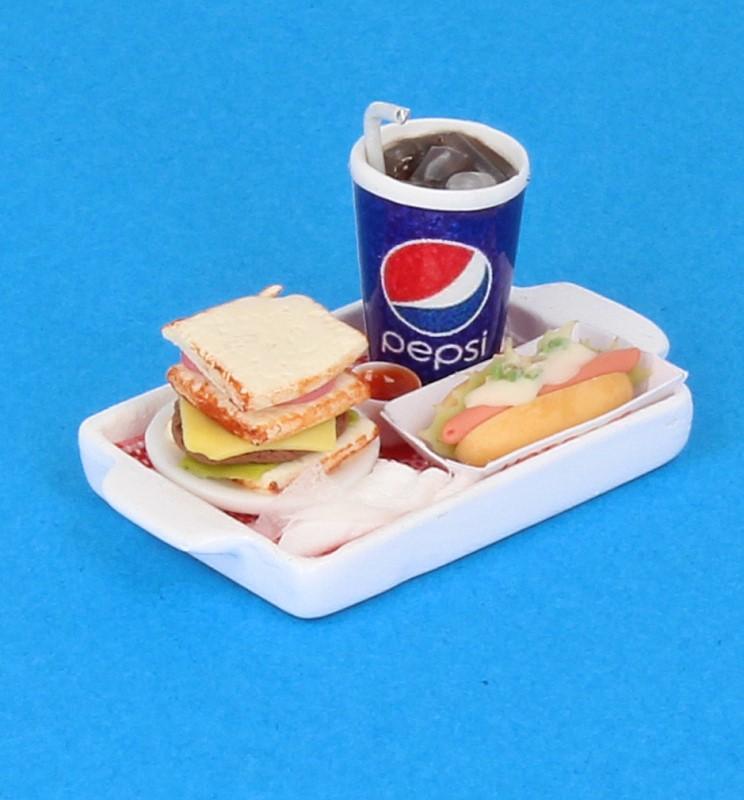 Sm3605 - Bandeja con sandwich