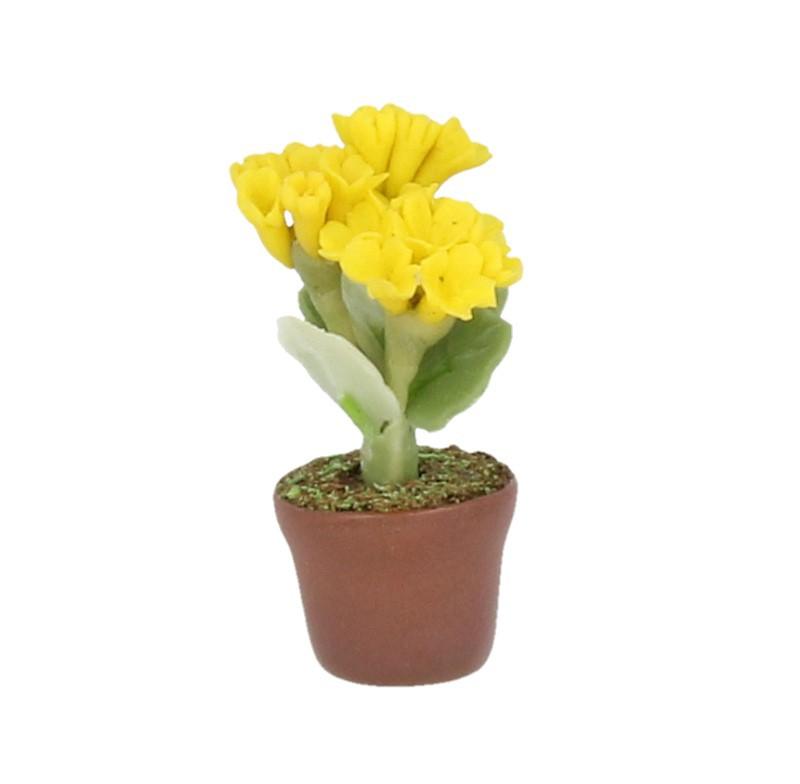 Sm4723 - Maceta con flores amarillas