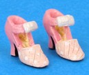 Tc0481 - Pink shoes for lady