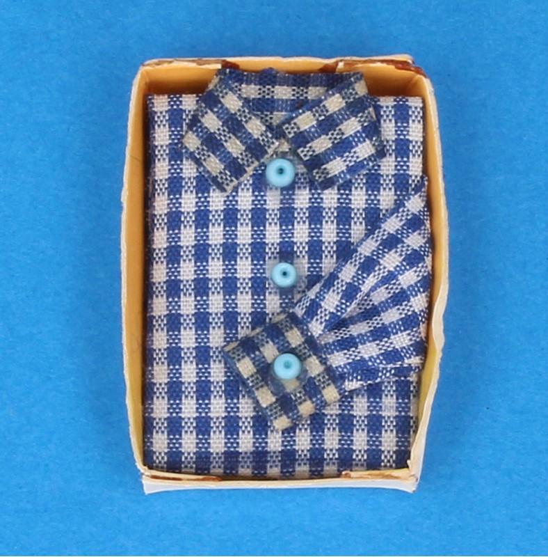 Tc0532 - Camicia celeste