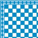 Tw2058 - Llight blue plaid paper