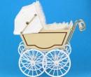 Mb0048 - Poussette pour bébé beige
