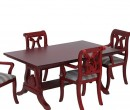 Cj0019 - Mesa y cuatro sillas