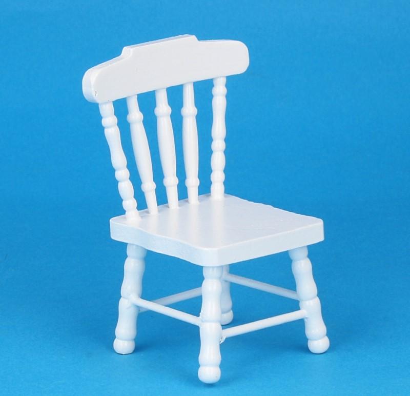 Mb0031 - Weißer Stuhl