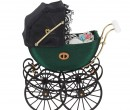 Mb0047 - Green Baby Carriage