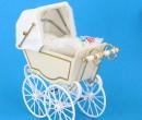 Mb0233 - White stroller