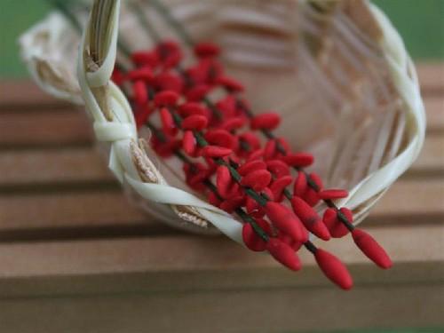 Tc0226 - Flores rojas