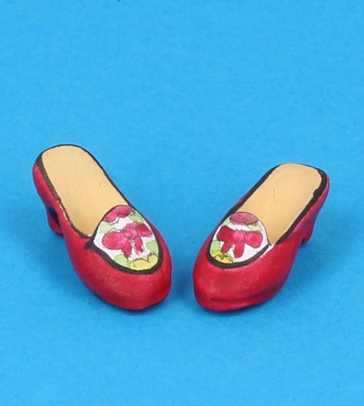 Tc0716 - Chaussures à talons rouges