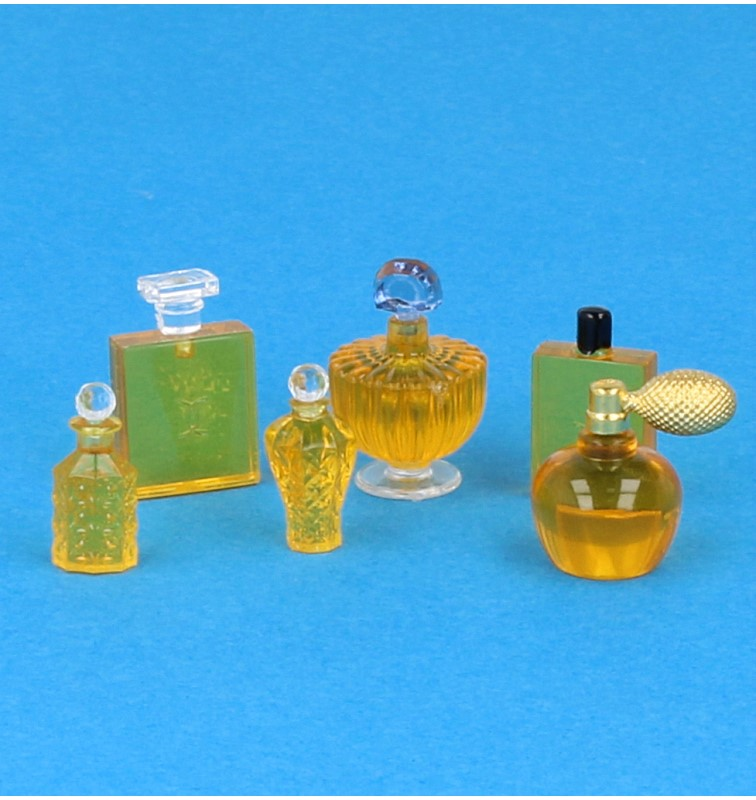 Tc1661 - Set perfumes dorados